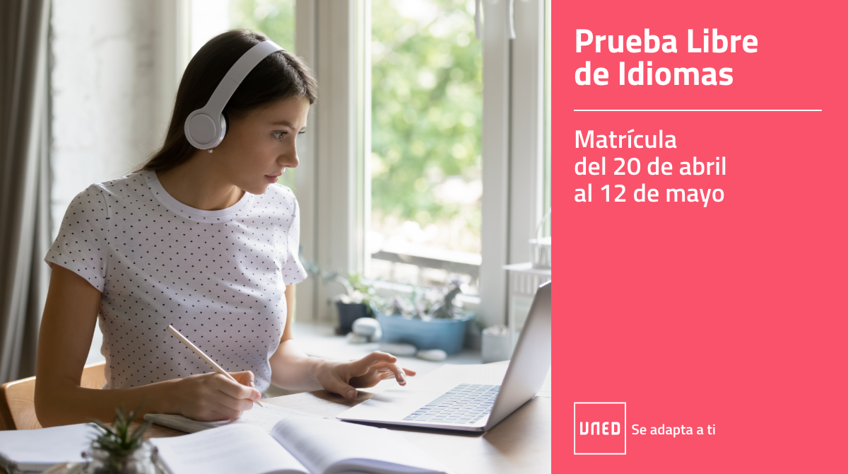 Estudia idiomas en la UNED - Prueba Libre